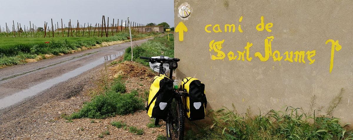 Camino de Santiago en bici, Etapa 2: Cervera – Fraga