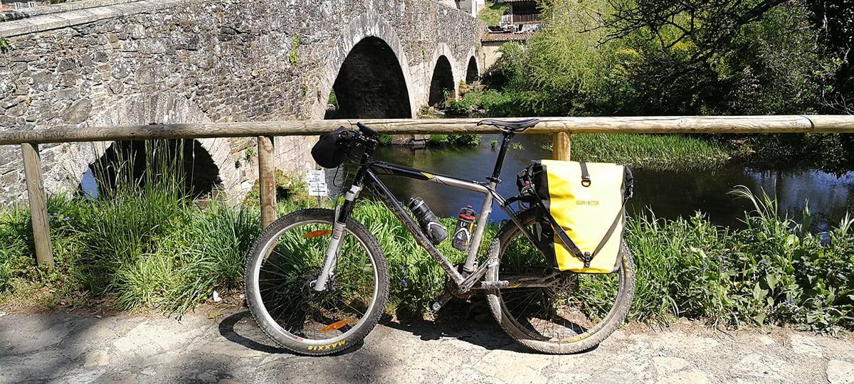 Camino de Santiago en bici, Etapa 13: Portomarín – O Pedrouzo