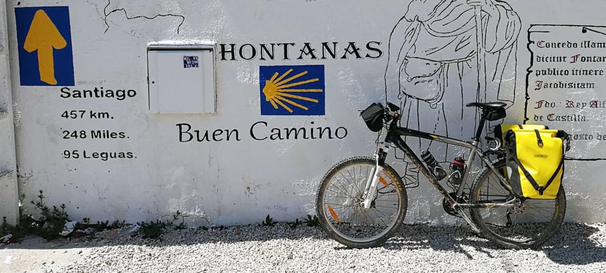 Camino de Santiago en Hontanas