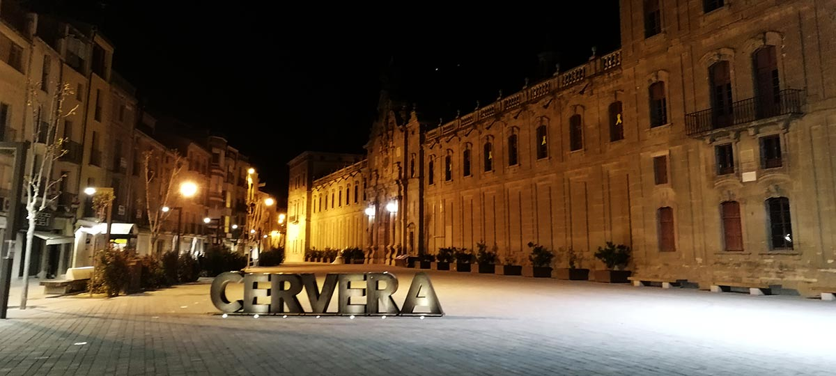 De Barcelona a San Sebastián en MTB, Etapa 1: Martorell – Cervera