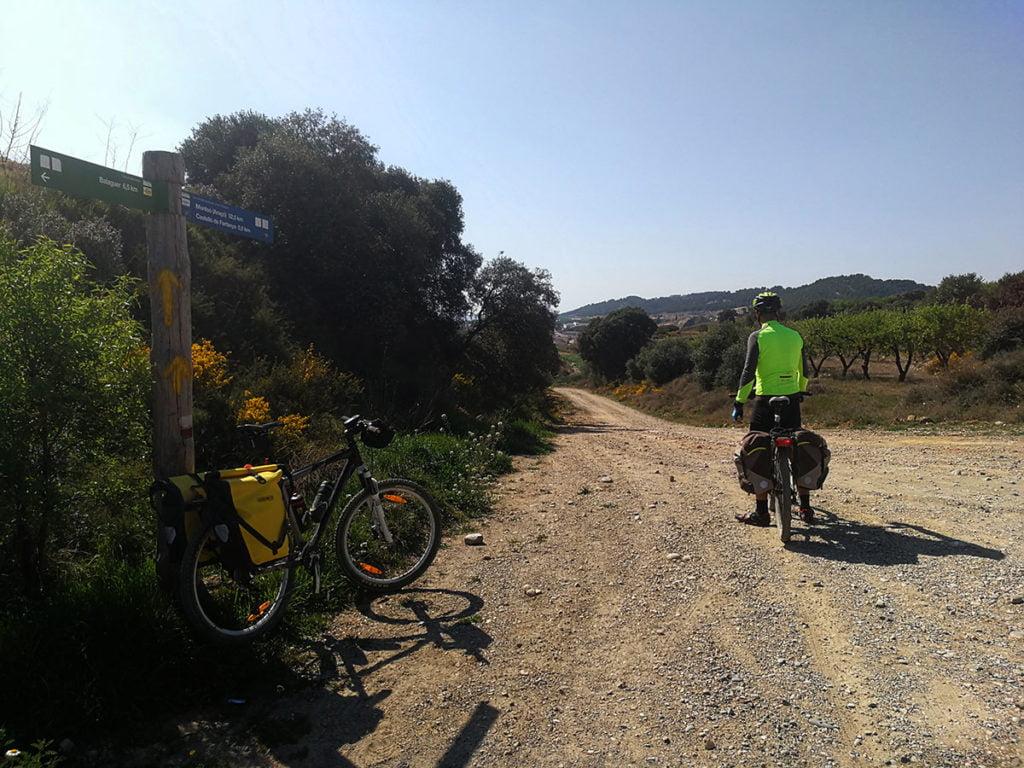 Flechas y señales del Camino de Santiago