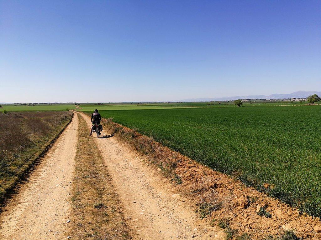 Camino de Santiago en Aragón pasado Berbegal