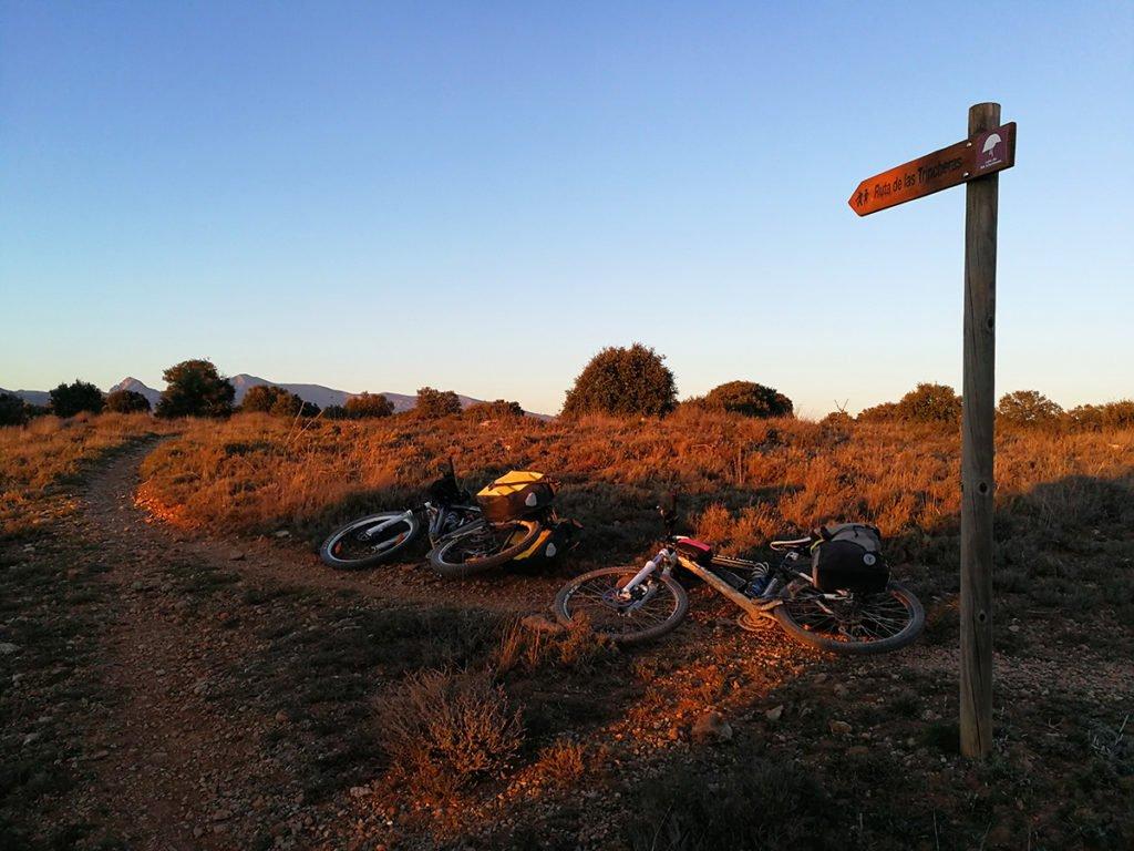 Ruta de las trincheras en Huesca